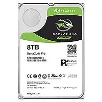 Seagate 希捷 8TB BarraCuda Pro SATA 6Gb/s 256MB高速缓存 3.5英寸内置硬盘 (ST8000DM0004)