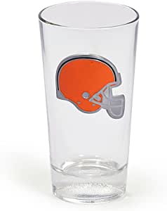 Cathy's Concepts NFL Pint Glass, Browns