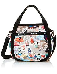 Lesportsac 女式 Classic系列时尚斜挎手提包 8056E183 红色/黄色/绿色/白色/蓝色 20 * 21 * 6cm