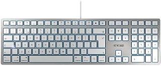 CHERRY KC6000 Slim for MAC - 有线键盘 - USB - 银色(美国国际)