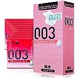 Okamoto 冈本 避孕套 超薄安全套 003透明质酸10片装 原装进口