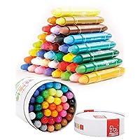 木马智慧 儿童学生文具 彩绘笔36色环保可水洗丝滑桶装彩笔彩绘棒蜡笔 34001