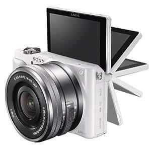 Sony 索尼 NEX-3NL/W 数码微单™相机  单镜套装(E PZ 16-50mm F3.5-5.6 OSS) (白)