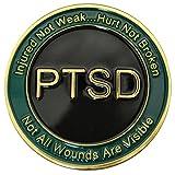 PTSD 硬币 - 提高对创伤后应力障碍的认识的挑战硬币