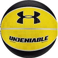 Under Armour 不丹迷你籃球,黃色/黑色,迷你尺碼/尺碼 3