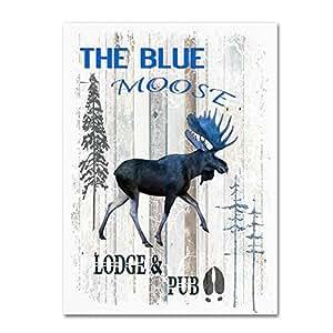 Trademark Fine Art The Blue Moose LightBoxJournal 出品 18x24 ALI10339-C1824GG