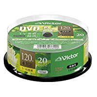 Victor(Victor) 1次录像用VHR12JP20SJ1 1次录像用 20枚(スピンドル)