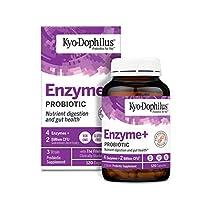Kyo-Dophilus 益生菌酶(120粒胶囊)不含大豆麸质