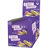 Oatein Brownie - 60g - White Choc Chip Flavour - Box of 15