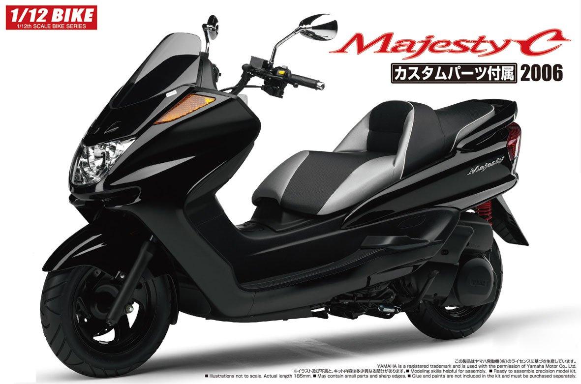 「AOSHIMA 青島 1/12 YAMAHA Majesty C 介紹」的圖片搜尋結果