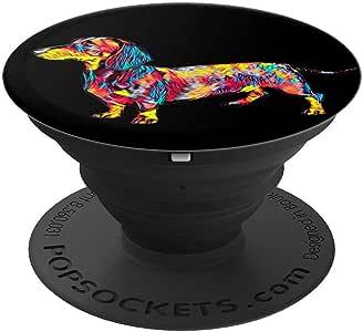 Dachshund Breed PopSockets 手机和平板电脑握架260027  黑色