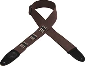 Levy's Leathers MSSC8B-BRN Cotton Guitar Strap