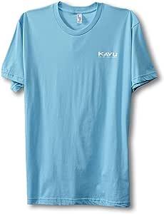 KAVU 男式 Woods T 恤 X-S 蓝色 855