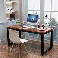 电脑桌台式桌主机笔记本家用经济型书桌写字台简易小孩学习桌书桌餐桌简约现代钢木办公桌子双人桌