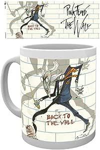 empireposter Pink Floyd – 回到墙 – 陶瓷杯 – 尺寸Ø8.5 H9.5 厘米 + 附加商品 彩色 12 x 8 x 10 cm 717177