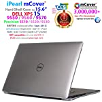 IPEARL mcover 硬质外壳保护套11英寸 DELL XPS 159550/ 9560/ Precision 5510系列(发布 After 9月 2015) 笔记本电脑 透明