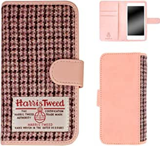 Whitenuts 手机壳 翻盖型 哈里斯花呢WN-OD159880  1_ iPhoneSE 粉色