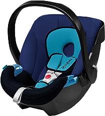 香港进口亚太版 德国CYBEX 赛百斯 儿童汽车安全提篮 Aton 月光蓝 适合0-13kg 约0-18个月 国内发货 包邮包税