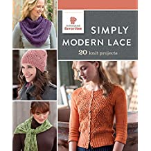 Simply Modern Lace: 20 Knit Projects (Interweave Favorites) (English Edition)