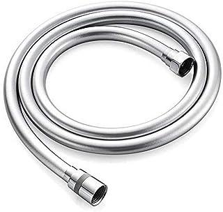 GRIFEMA G852-18 PVC 扭转保护淋浴软管,180厘米,通用淋浴软管,极其灵活,白色