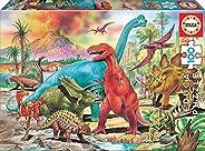 EDUCA 西班牙 拼圖 100片 恐龍 13179