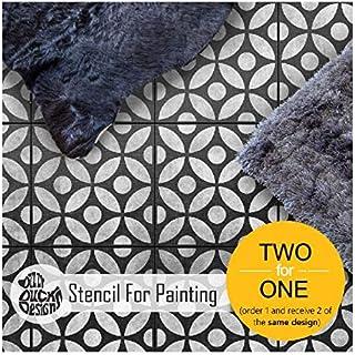 Tsunagi 斑点图画用瓷砖模板 | 可定制尺寸 13 inches