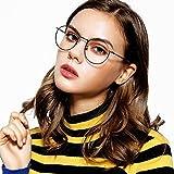 LOHO眼镜生活 男女款近视眼镜框大框复古圆框光学镜架 LH2122