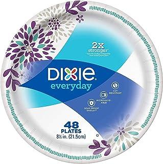 Dixie 日常重型纸盘,8.5 英寸,48 个 白色 2组