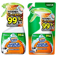 Johnson庄臣Scrubbing Bubbles 耐脏厨房清洁剂 主体+替换装