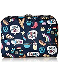 Lesportsac Classic系列 女式 EXT LRG RECTANG COSMETIC款式化妆包