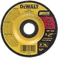 DEWALT DW4514B5 10.16cm x 0.64cm x 2.22cm 金属研磨轮 5 件装 DW4514