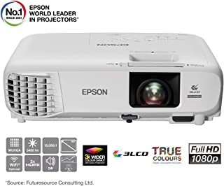 Epson 爱普生 3LCD投影仪 EB-U05(WUXGA,3400流明,15000:1对比度)