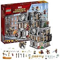 LEGO 乐高  拼插类 玩具  Super Heroes 超级英雄系列 奇异博士至圣所大对决 76108 8-14岁