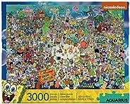 AQUARIUS 海綿寶寶 3000塊拼圖 多色 68508