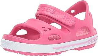 Crocs 卡骆驰中性款儿童 Crocband II 凉鞋 蓝色(*蓝/白色) 2 UK (J2 US) Crocband Ii Sandal Ps K
