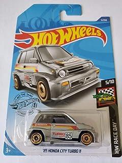Hot Wheels 2020 Hw 比赛日 '85 本田城市涡轮 II,11/250 银色