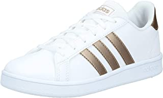 adidas 阿迪达斯 Grand Court 通用儿童网球鞋