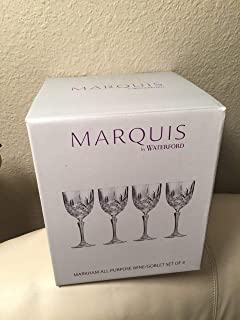 Markham 397ml 高亮玻璃杯(4 件套)