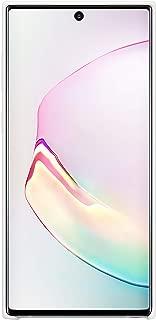 三星 Official Galaxy Note10 / Note10+ 手机壳,硅胶后盖EF-PN975TWEGWW Galaxy Note 10+ 白色