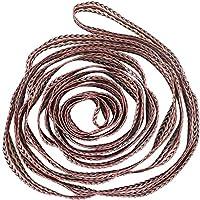 nalax 弹力带健身带环提花编织拉伸工具适用于运动普拉提和瑜伽弹性拉伸带(3 厘米)