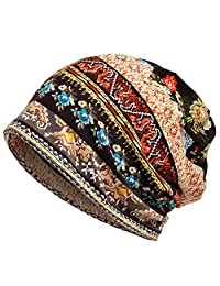 MuYiTai 女式棉质无檐小便帽 Chemo 帽子适合***使用
