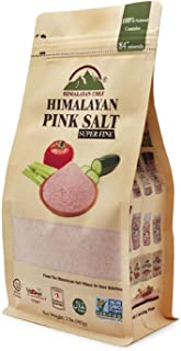 Himalayan Chef 100% Natural Pink Coarse Salt 2 lbs Bag. Ideal for Salt Grinders