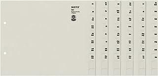 Leitz 利市 13540085 寄存器 A-Z A4 纸 纸 200 文件夹 灰色