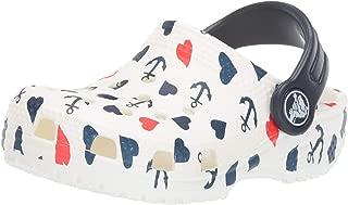 Crocs 卡骆驰儿童经典锚图案洞鞋