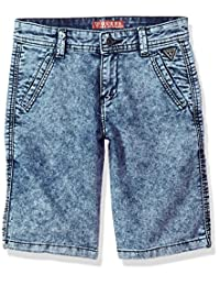 Guess 男孩牛仔短裤