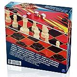 Spinmaster 6033211 超值棋盘/棋子和副棋子套装