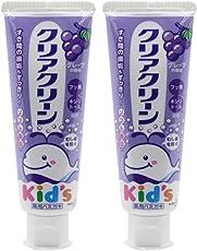 KAO 日本花王 儿童牙膏(提子味)70g*2组合装(进口)