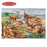 Melissa & Doug 恐龙巨型地板拼图(48片,2×3英尺,约61×91.5厘米)
