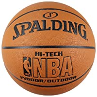 SPALDING斯伯丁 室内室外篮球 7号标准蓝球 PU材质 掌控系列比赛用球74-600Y