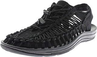 KEEN Men's UNEEK Sandal, Black/Black, 12 M US